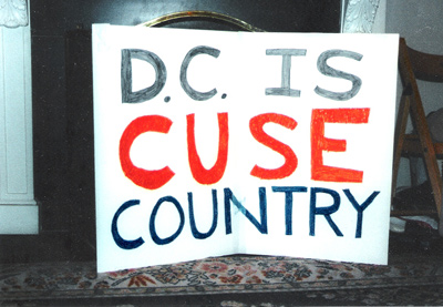 DC is Cuse Country